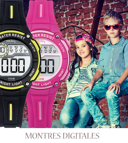 Montre enfant digitale